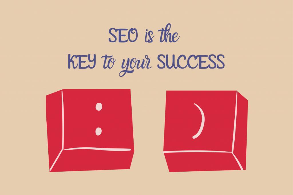 SEO de sleutel tot online succes