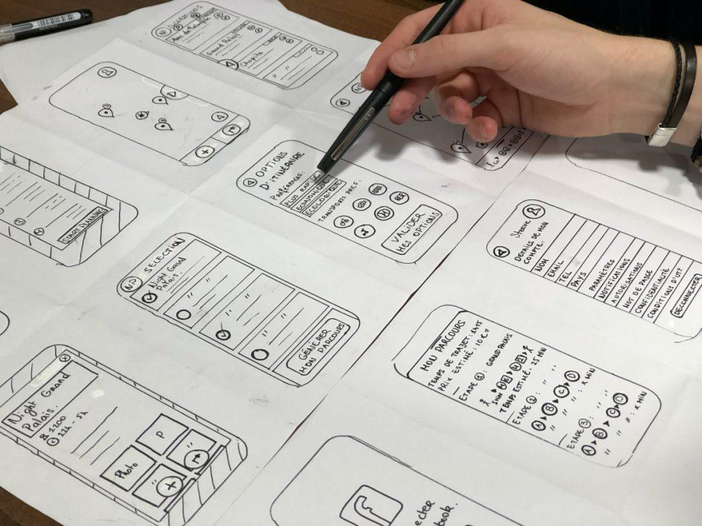 webdesign mock-ups maken