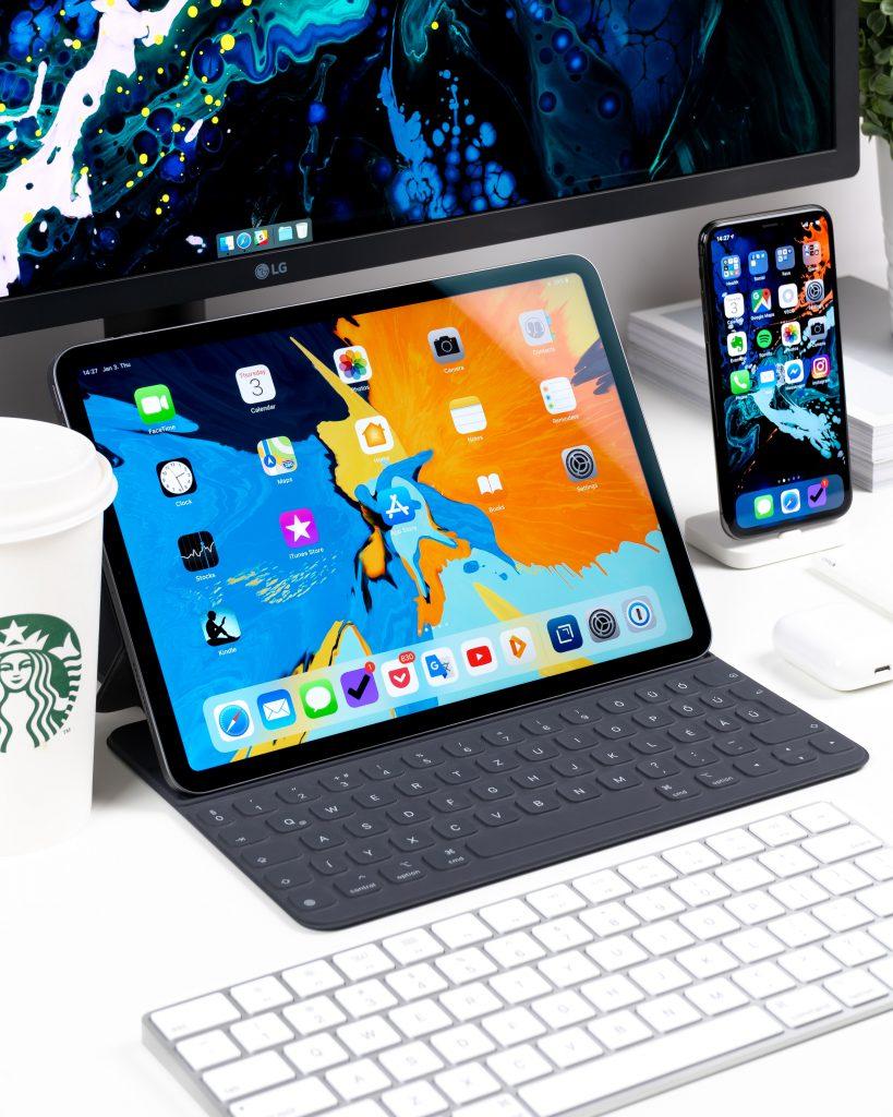 Responsive webdesign voor desktop tablet smartphone