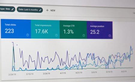 Google Search Console trends
